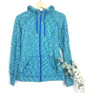 RBX Women's Athletic Zip Up Hooded Jacket